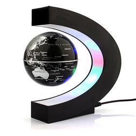 Svævende globus med LED lys