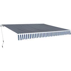 vidaXL Manual Folding Awning 400x300cm