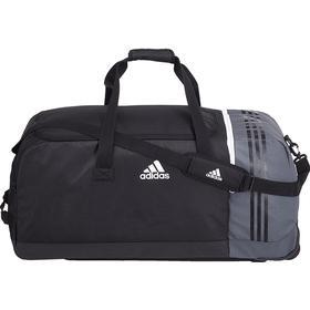 Adidas Tiro Team Bag with Wheels XL-Black/Dark Grey/White (B46125)