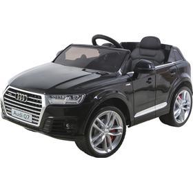 Sjov Elbil Til Børn - Audi Q7 - Farve Sort
