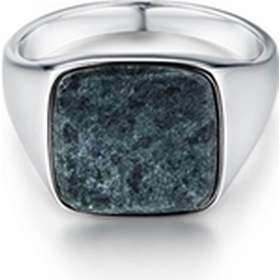 1 A Pharma Verde Signature Stainless Steel Ring w. Green Marble - 1.65cm a4532c027bc72