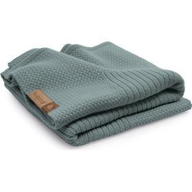 Bugaboo Soft Wool Woolmark® Blanket - Petrol Blue Melange