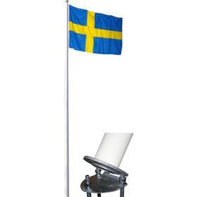 flaggstång 12m pris