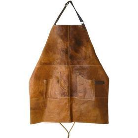 Scandinavian Home Apron Leather (66x78cm, Brown)