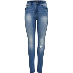 Only Pearl High Waist Skinny Fit Jeans Blue/Medium Blue Denim