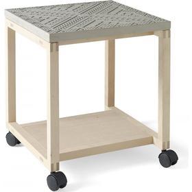 Sidobord rullbord anna grå, tove adman