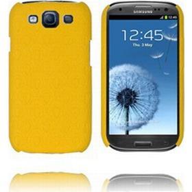Samsung Galaxy S3 Roman Læderbetrukket (Gul) Samsung Galaxy S3 Cover