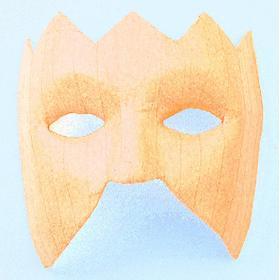 Efco Ögonmask 15 x 17 cm - räfflad