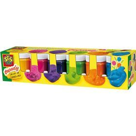 SES Creative Gouachefärg för barn - 6x45ml