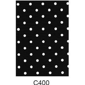 Decopatch-papper (vita prickar)
