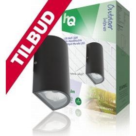 HQ HQLEDWLOUT03 LED Udendørs Vægpære 11 W 490 lm Sort - TILBUD..