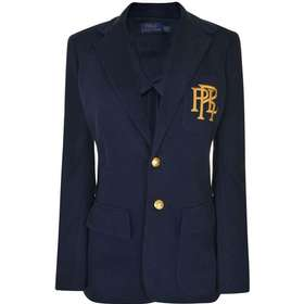 17de40de10a Ralph Lauren Knit Cotton Blazer - Park Avenue Navy