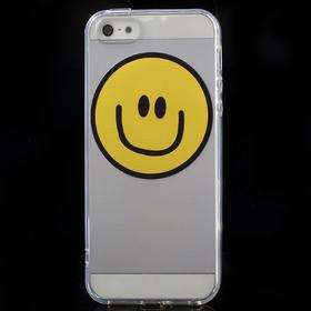 iPhone 5/5S/SE TPU Bagcover m. smile Smiley