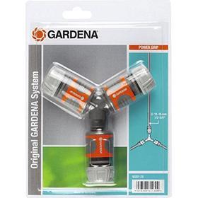 Gardena Two Way Hose Coupling Set 13mm