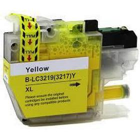 Kompatibel bläckpatron Brother LC3219XLY gul 1500 sidor