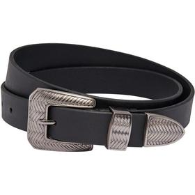 Only Leather Belt Black/Black