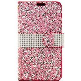 Beyond Cell LG K7 Beyond Cell Diamond Glitter Pung Taske - Pink