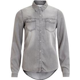 Vila Vibista Denim Shirt Grey/Grey Denim