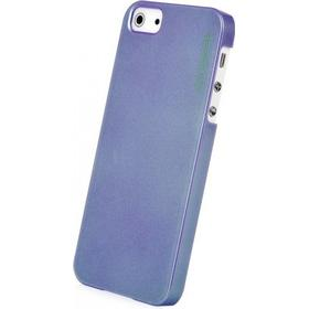 CAPDASE Karapace Purple Jacket-Pearl (with stand) for iPhone 5 5s SE