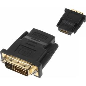 Dvi (24+1pin) male till hdmi female video adapter converter