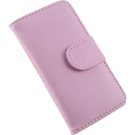 Fabrikkerne Accessories - Flipcover - Cover med kortholder - iPhone 4/4S - Lyserød