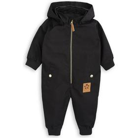 Mini Rodini Pico Baby Overall - Black (1771011299)