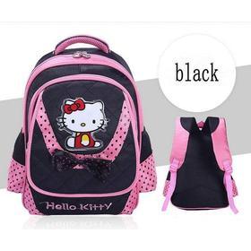 Hello Kitty Skoletaske