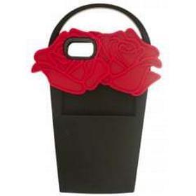 Lulu Guinness Womens Black & Red Rose Basket iPhone 6/7 Case