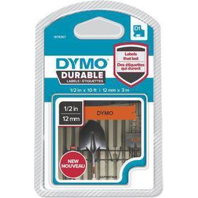 DYMO Tape DYMO Durable D1 12mm Svart på Ora.