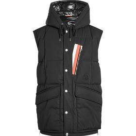 Moncler Ancas Quilted Down Vest with Hood
