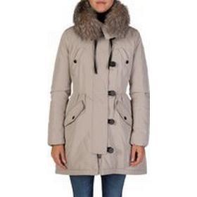 Moncler Stone Aredhel Parka Jacket - Size 14