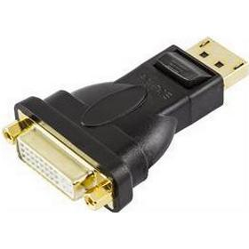 Deltaco DVI-D Single Link - Displayport Adapter F-M