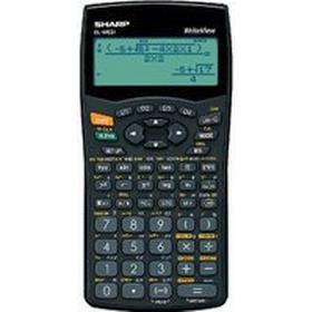 Sharp EL-W531 WriteView Calculator Scientific Battery-power 4-line 335 Functions 2-key Rollover