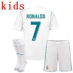 Adidas Real Madrid Home Jersey Kit 17/18 Ronaldo 7. Youth