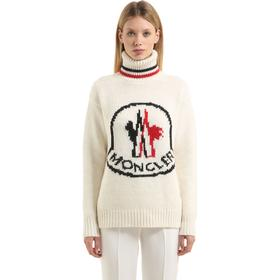 CASHMERE BLEND TRICOT SWEATER