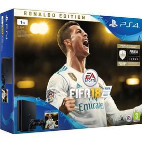 Sony PlayStation 4 Slim 1TB - FIFA 18 - Ronaldo Edition