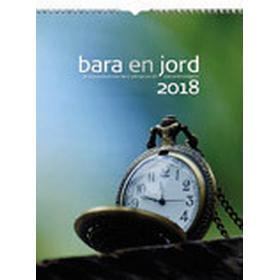 Väggkalender Bara en jord 2018
