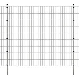 vidaXL 2D Garden Fence Panels & Posts 22mx183cm