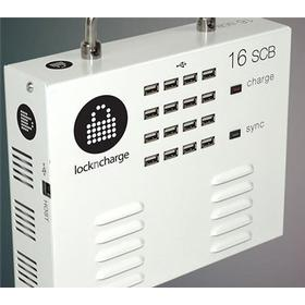 LocknCharge iQ 16 Universal SCB + One pack of FOUR Plastic Baskets (5-slot, one of each: YGRB)