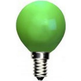 Decoration klotlampa E14 LED Grön