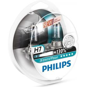 Philips H7 Xtreme Vision pærer +130% mere lys ( 2 stk)
