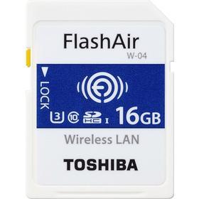 Toshiba FlashAir W-04 SDHC Class10 UHS-I U3 90/70MB/s 16GB