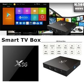 4K Smart TV Box X96 Android 5.1 IPTV KODI AIRPLAY DLNA likt Apple TV