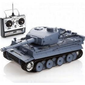 Heng Long German Tiger 1 Heng Long fjernstyret tank m/røg olie