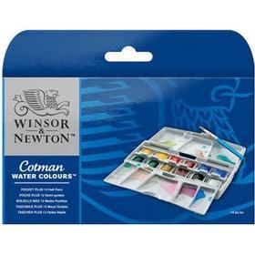 Winsor Newton Cotman Water Col pocketbox PLUS