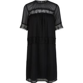 Y.A.S Chiffon Dress Black/Black