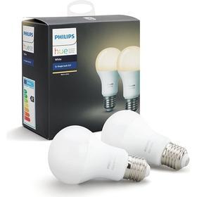 Philips Hue White LED pære - E27 - 2-PACK