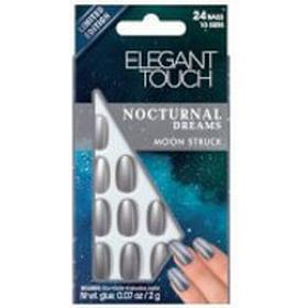 Elegant Touch Nocturnal Dreams Moon Struck Nails 24-pack