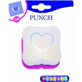 Playbox 3D-Stans 34 mm - Hjärta