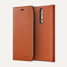 Nokia Leather Flip Case (Nokia 8)